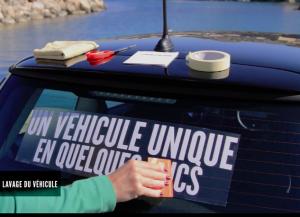 habillage de véhicule découpe de lettres - NCN Comm' Experte Marketing et communication pour les TPE, PME et indépendants