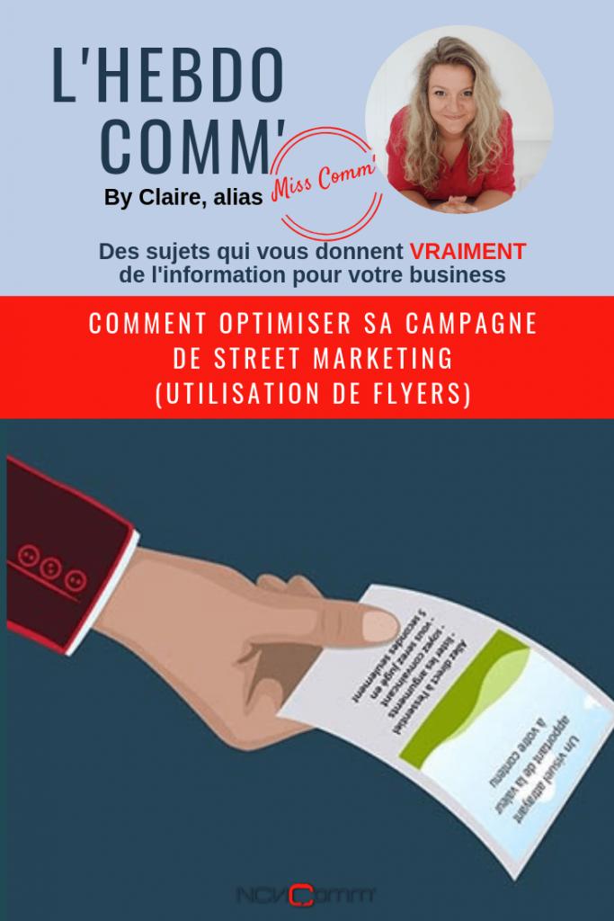 Organiser sa campagne de street marketing - @MissCommFrance