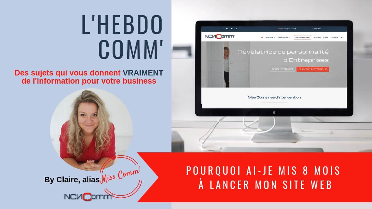 Lancer mon site web - NCN Comm', création de site internet et présence digitale