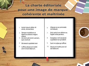 La charte éditoriale,pour une image de marque cohérente