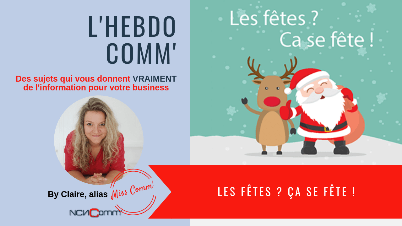 Profitez des fêtes pour un Marketing Social - NCN Comm' - Claire Négrier, Experte Marketing et Communication Villefranche