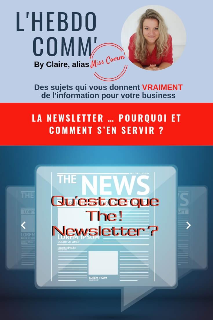 La Newsletter, Comment et pourquoi s'en servir - NCN Comm' spécialiste Communication - Val d'Oingt
