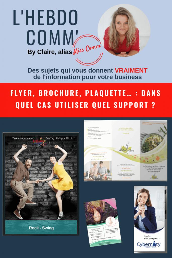 Choisir son support de communication - NCN Comm' Expertise Marketing et communication - Vallée d'Azergues