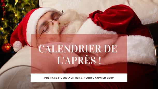 Calendrier de l'après - Decembre 2018 - NCN Comm', spécialiste Communication 360 Vallée d'Azergues
