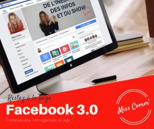 Atelier Facebook 3.0 - Redéfinir votre stratégie sur Facebook - NCN Comm', expert communication marketing et réseaux sociaux