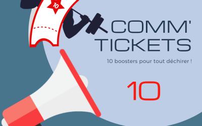 Comm' Tickets (par 10)