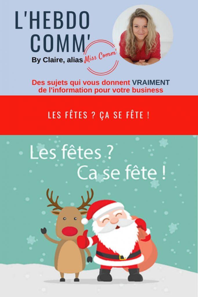 Les fêtes : ça se fêtes ! NCN Comm, stratégie de communication et création de supports marketing - Lyon