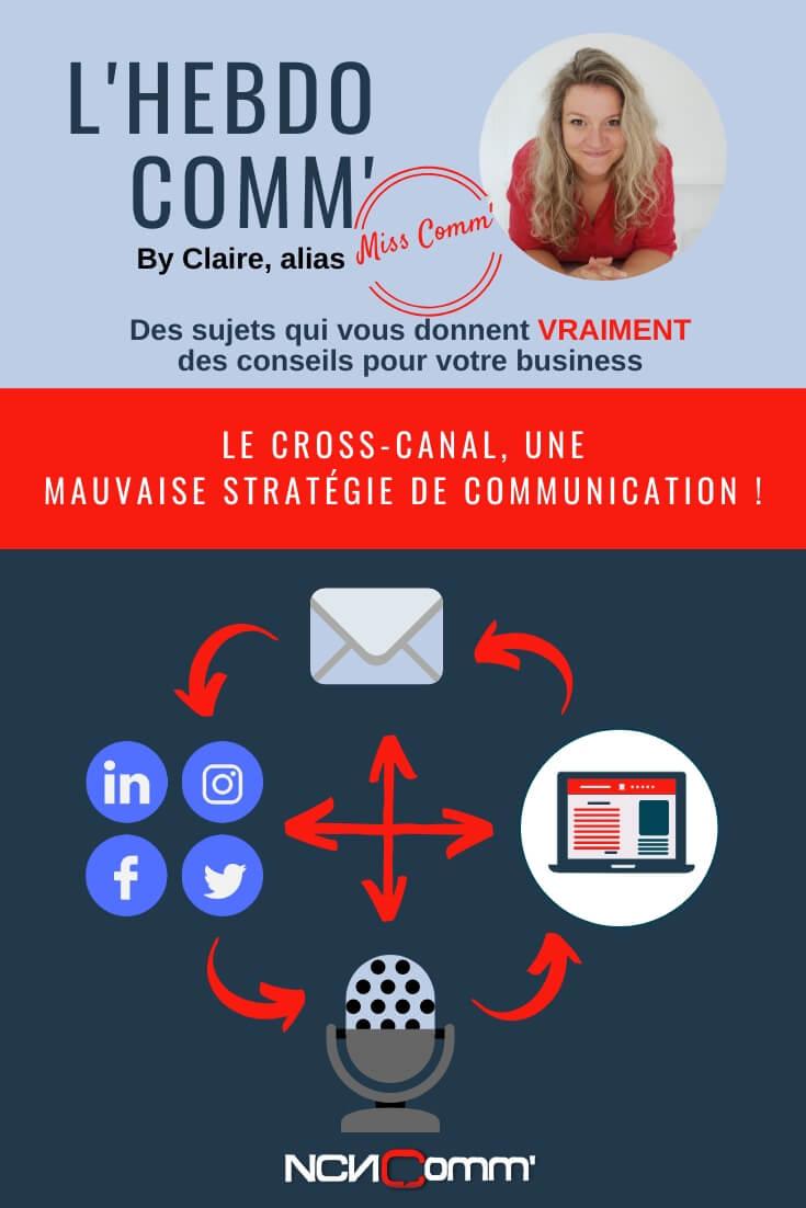 Cross-canal : une mauvaise stratégie de communication, NCN Comm', création de supports de communication personnalisés et branding