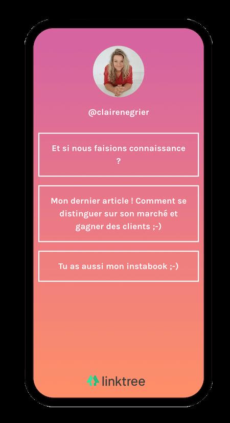 Linktree - Application indispensable pour sa stratégie instagram - NCN Comm', Stratégie social média
