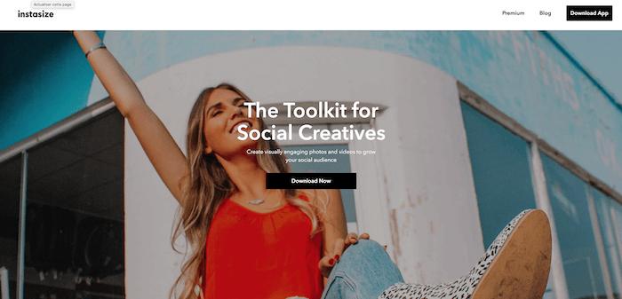 Instasize, application utile pour Instagram, NCN Comm', stratégie social média