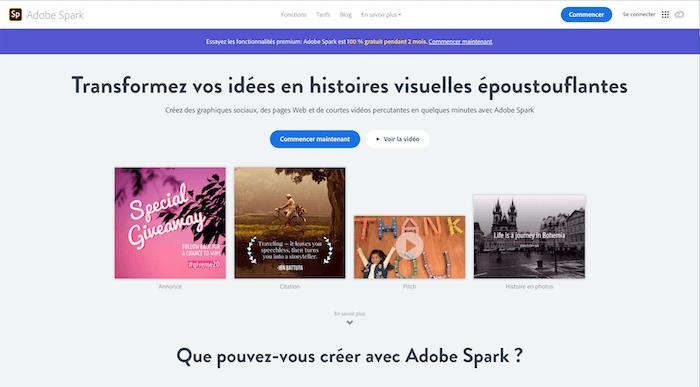 Spark, création du contenu pour les réseaux sociaux - NCN Comm' pour le social média des entrepreneurs