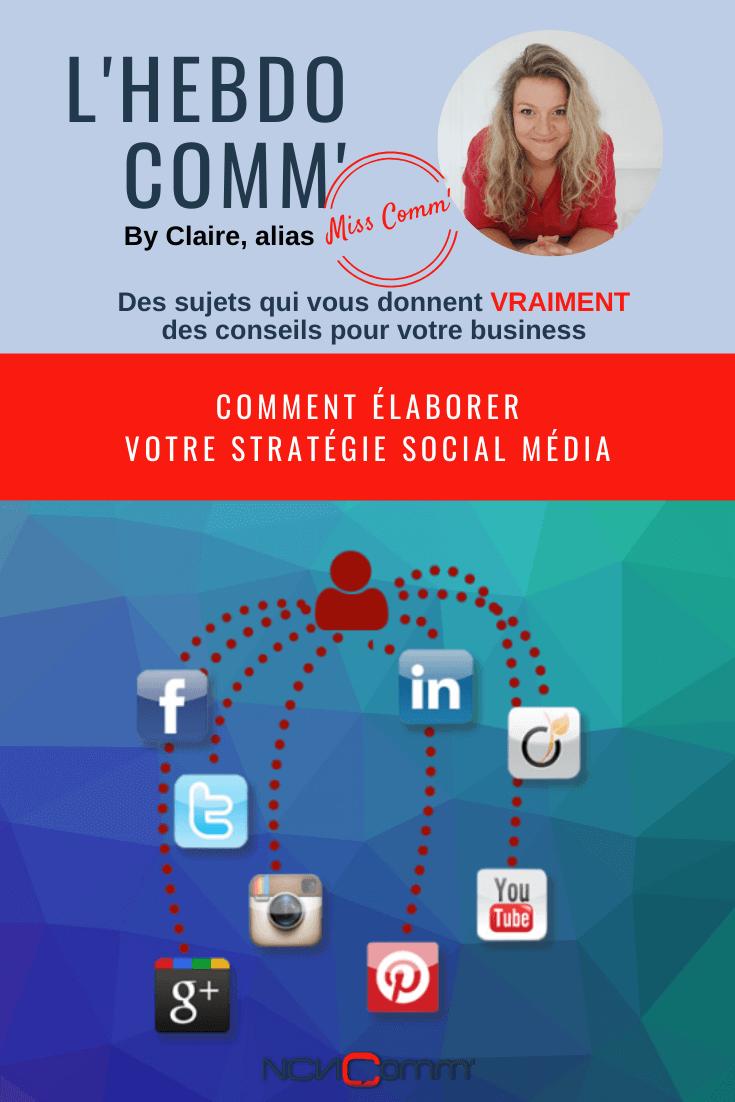 Comment élaborer sa stratégie social média - via @NCN Comm'